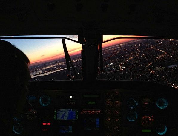 King Air Approach Method Philadelphia Landing Moor