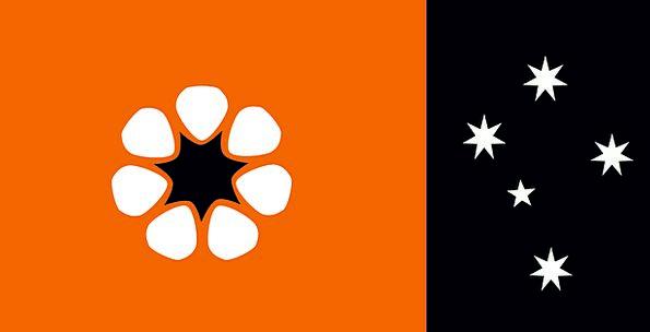 Northern Territory Standard Territory Land Flag Au