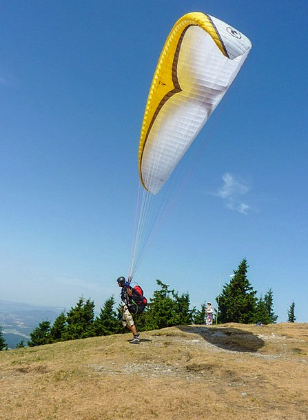 Paragliding Twitch Clipping Stage Start Sport Wind