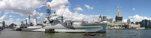 Hms Belfast Buildings Architecture Ship Vessel War