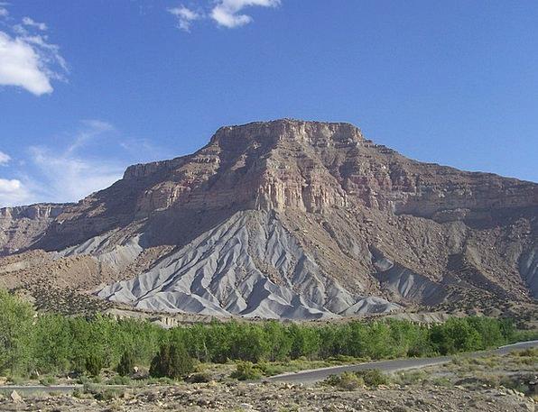 Millsite Landscapes Nature Mountain Crag Ferron En