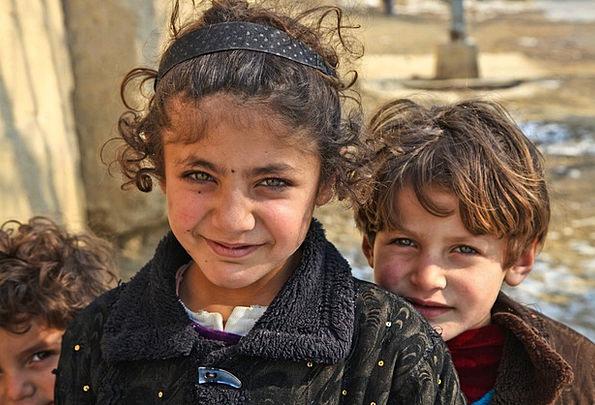 Afghanistan, Children, Broods, Kids, Village, Girl, Lassie, Pretty