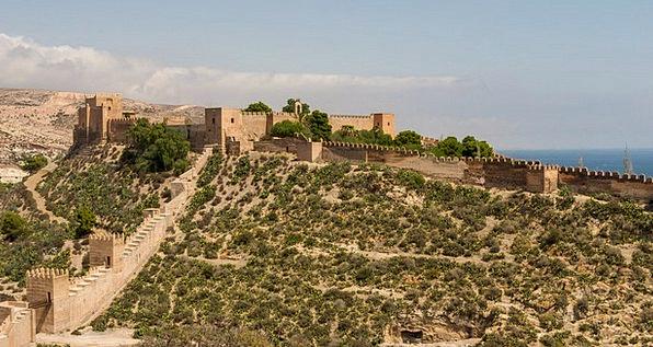 Alcazaba Of Almeria Monuments Places Castle Spain