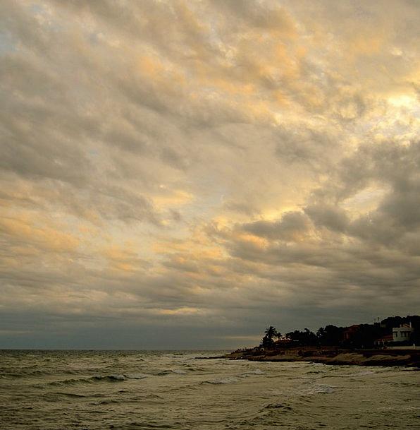 Clouds Vapors Vacation Marine Travel Sky Blue Sea
