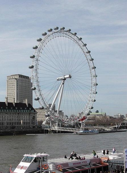 London Eye London Ferris Wheel England United King