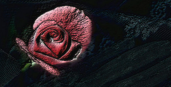 Rose Design Bloodshot Wedding Bridal Red Beautiful