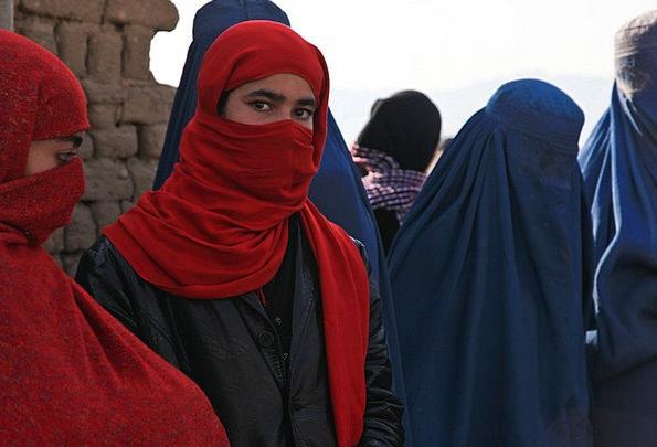 Afghanistan Lassie Burqa Girl Ceremony Rite Bee Ke