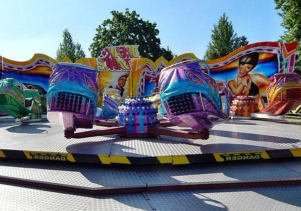 Amusement Park Funfair Merry-go-round Fun Amusing