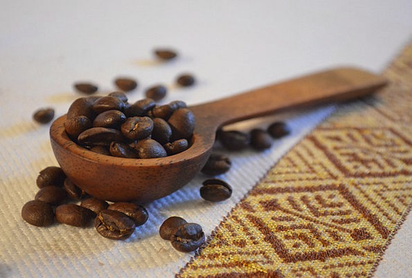 Coffee Chocolate Spoon Serve Beans Ethiopia Africa