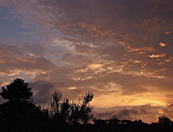 Sunset Sundown Vacation Travel Landscape Scenery V