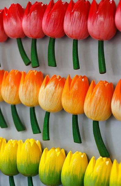 Attachment Add-on Magnet Lodestone Fridge Tulips M