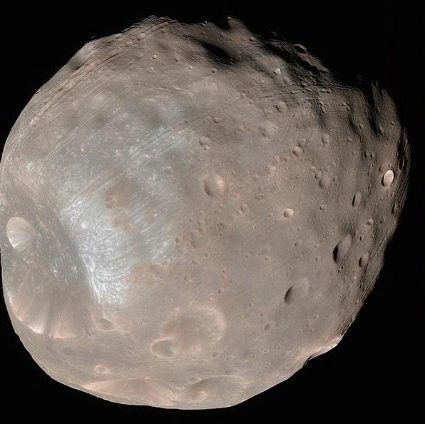 Phobos Romanticize Mars I Moon Night Sky Natural S