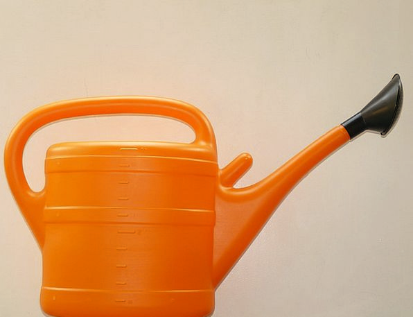 Watering Can Molding Orange Carroty Casting Plasti