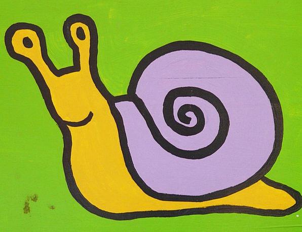 Snail Drawing Sketch Cartoon Character Funny Humor