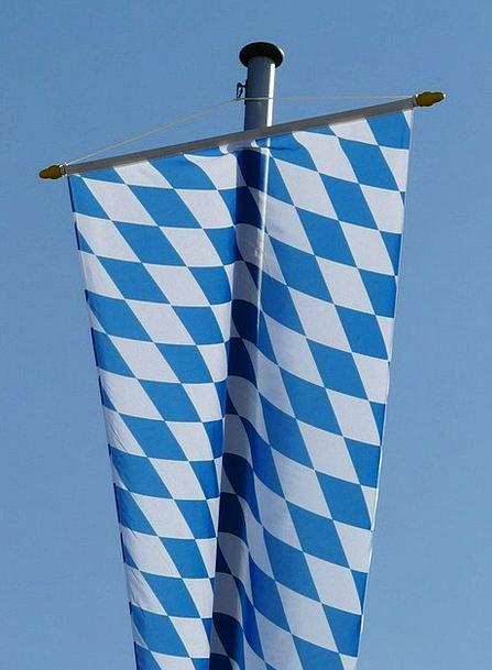 Flag Standard Blow Setback Bavaria Flutter Bet Sky