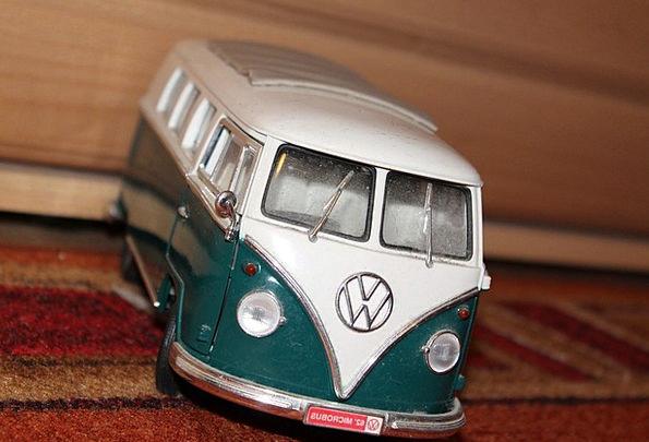 Bus Car Vw Bus Vw Volkswagen Model Car Camper Camp
