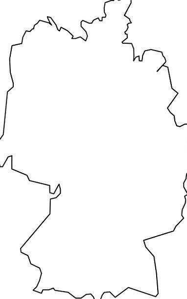 Germany Outline Map Free Illustrations Free Image