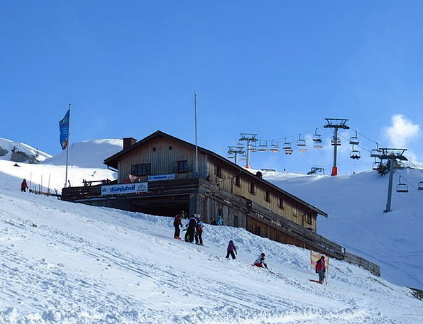 Mountain Crag Landscapes Shed Nature High Alp Hut