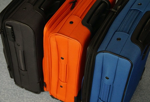 Luggage Baggage Vacation Leave Travel Packaging Wr