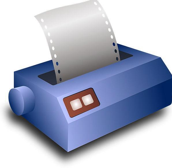 Inkjet Printer Pattern Document Text Print Printou
