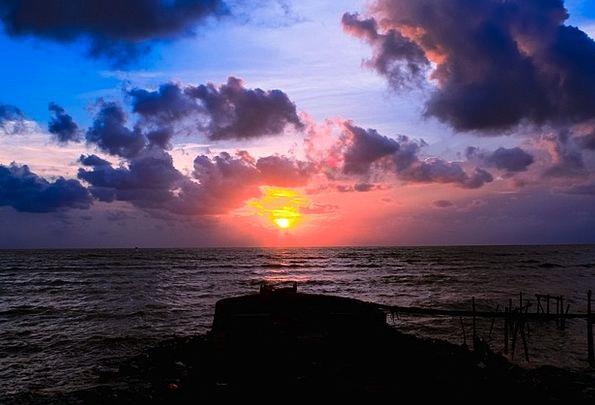 Sun Vacation Sundown Travel The Sea Sunset The Sky