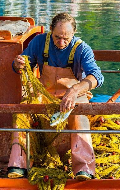Fisherman Craft Effort Industry Sivota Work Harbor