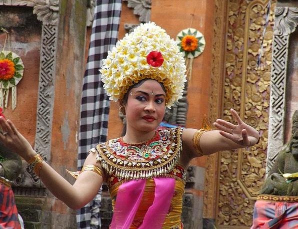 Bali Female Dancer Barong Dance