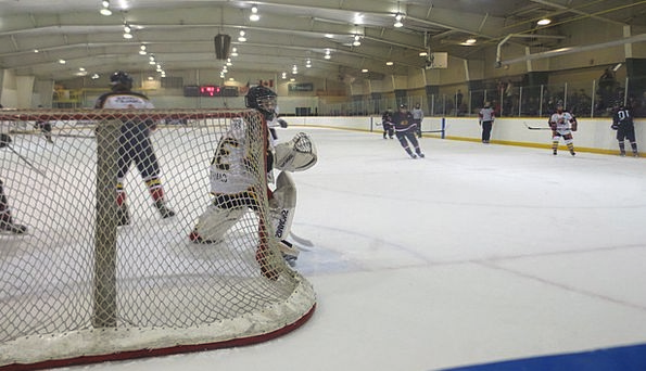 Goalie Ice Frost Hockey Athlete Sportsperson Arena