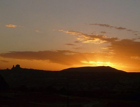 Sunset Sundown Vacation Travel Golden Excellent Su