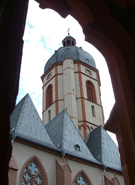 Bell Tower Mainz St Stephan