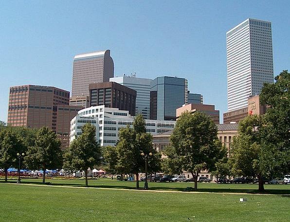 Denver Buildings Architecture City Urban Colorado