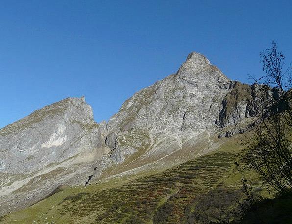 Höfats Landscapes Crags Nature Summit Conference M