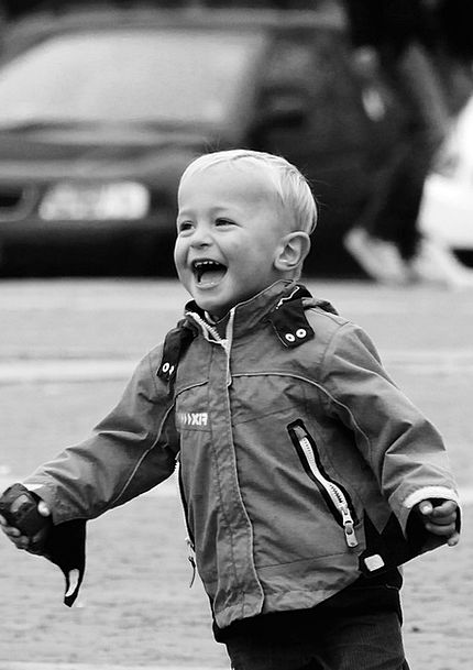 Laughter Amusing Happiness Contentment Fun Boy Lad