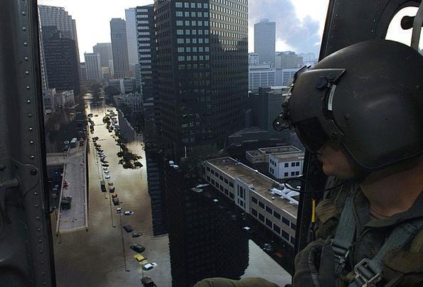 New Orleans Buildings Architecture Hurricane Katri