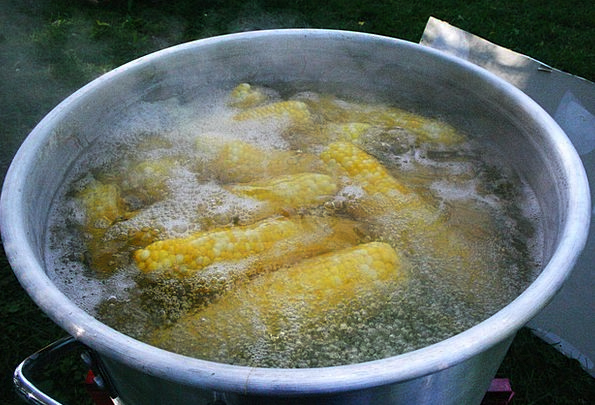 Corn Goo Drink Hot Food Vegetable Plant Boiling Or