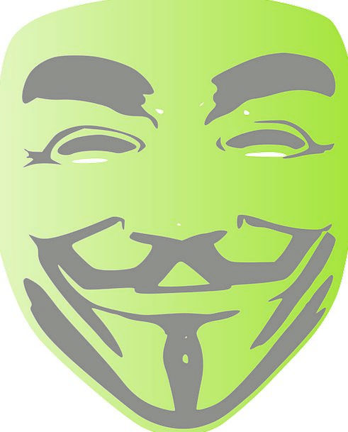 V For Vendetta Nameless Face Expression Anonymous