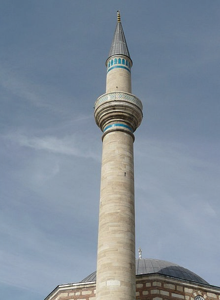 Minaret Turret Konya Mosque Mausoleum Tomb Mevlana