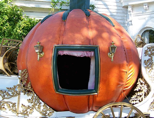 Pumpkin Traffic Trainer Transportation Carriage Be