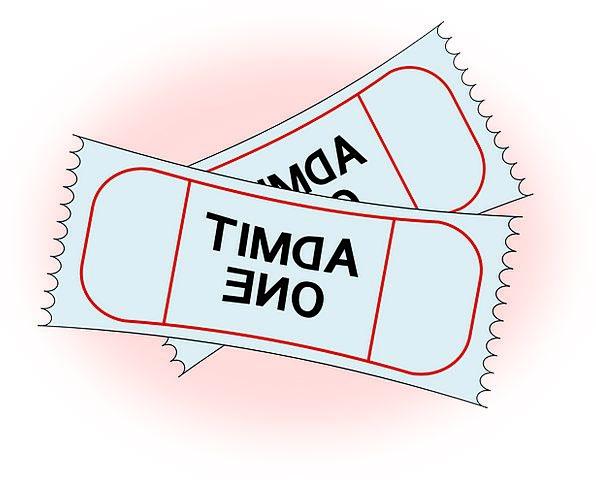 Tickets Permits Confess Admission Fee Admit Permis