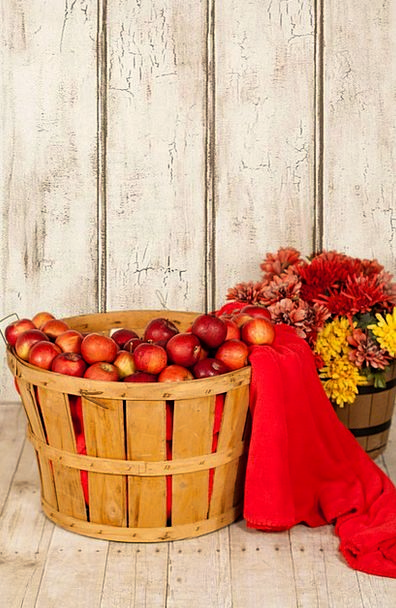 Apple Basket Textures Backgrounds Fall Reduction A