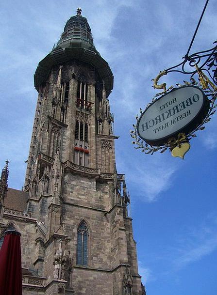 Freiburg Steeple Münster Architecture Münster Towe
