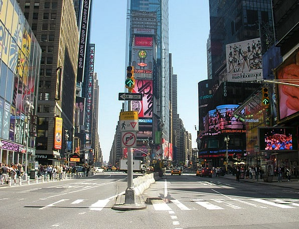 Times Square Buildings Architecture New York Usa S