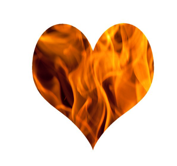 Fire Passion Emotion Love Darling Heart Burn Flame