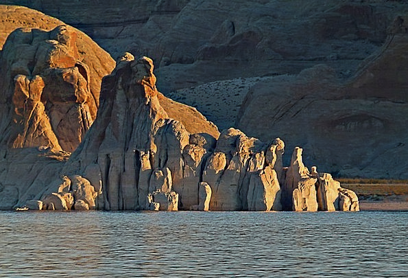 Lake Freshwater Landscapes Nature Arizona Powell L