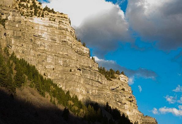 Mountains Crags Landscapes Crag Nature Sky Blue Mo