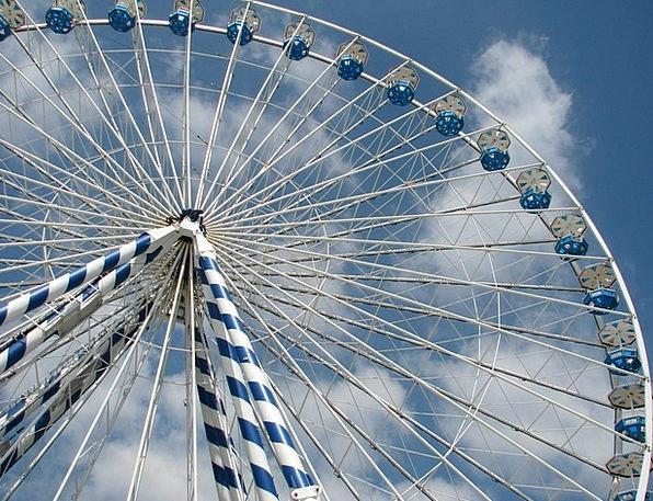 Ferris Wheel Reasonable Market Marketplace Fair Fe