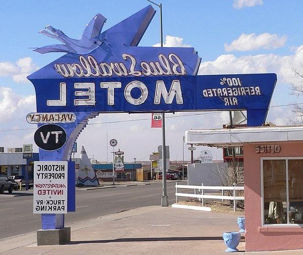 Tucumcari Monuments Places Motel New Mexico Highwa