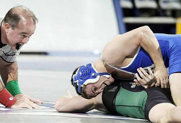 Wrestling Struggling Sporting Competition Rivalry