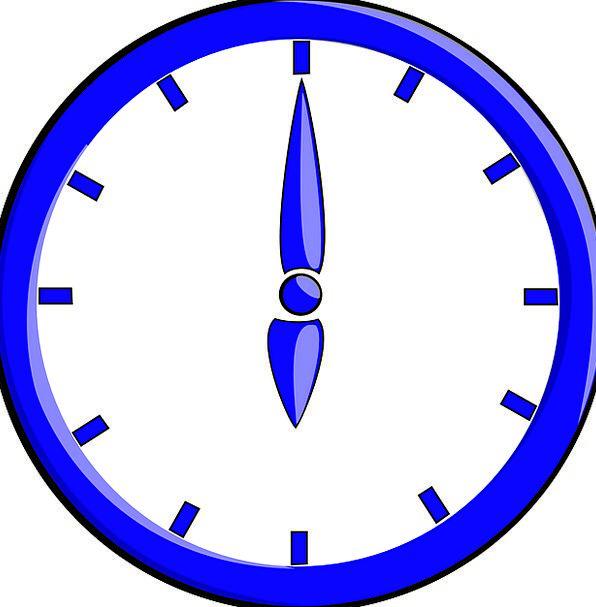 Clock Timepiece Period Six Time Six O' Clock Free