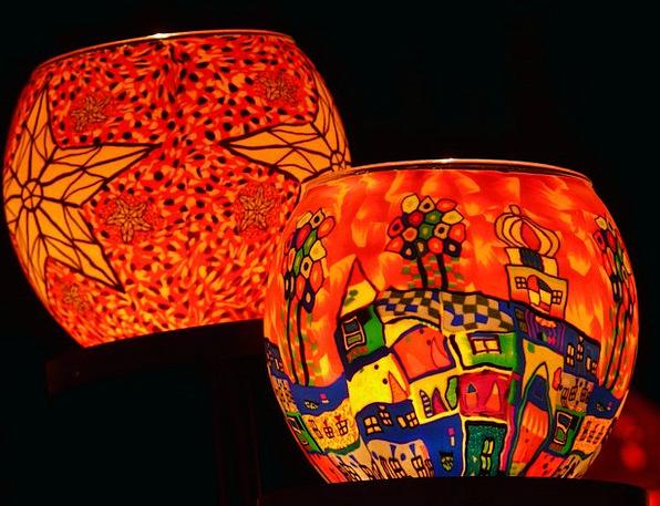 Lanterns Lamps Illumination Light Bright Lighting